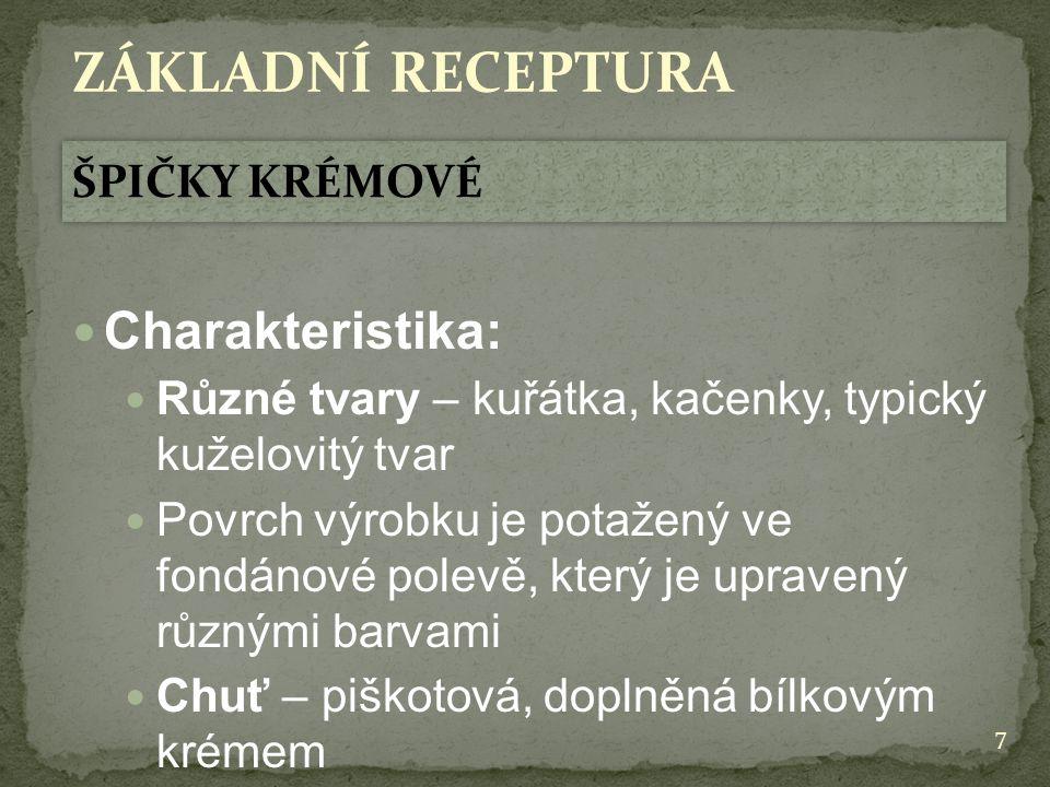 38 ZÁKLADNÍ RECEPTURA 4.