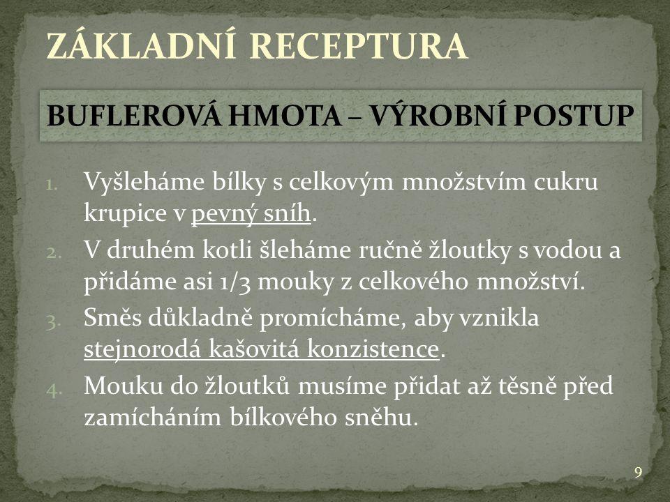10 ZÁKLADNÍ RECEPTURA 5.