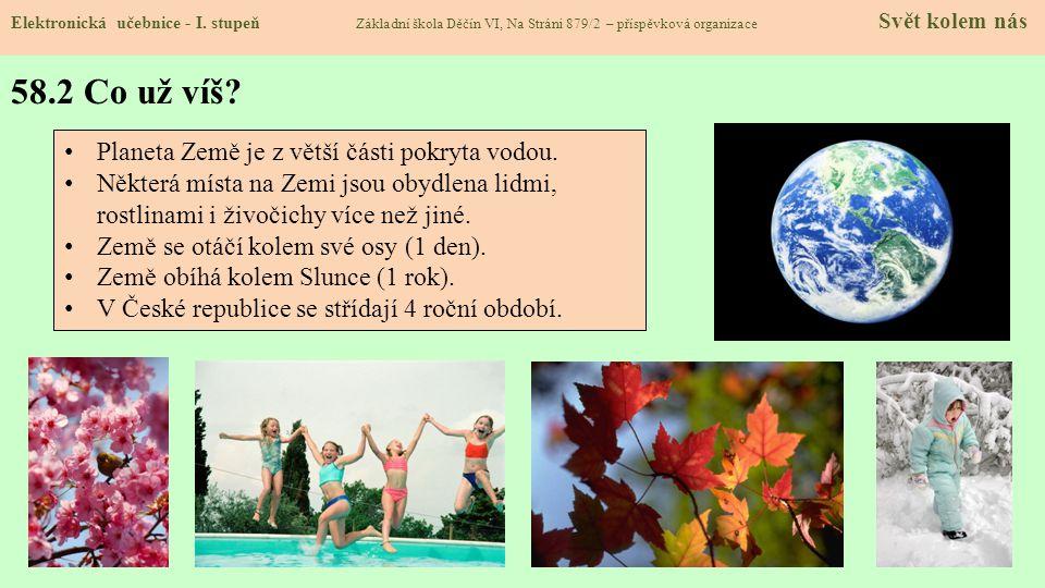 58.3 Jaké si řekneme nové termíny a názvy.Elektronická učebnice - I.