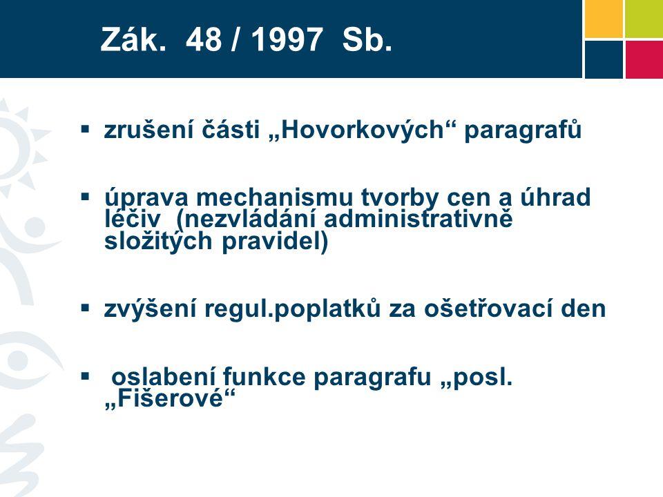 Zák.48 / 1997 Sb.