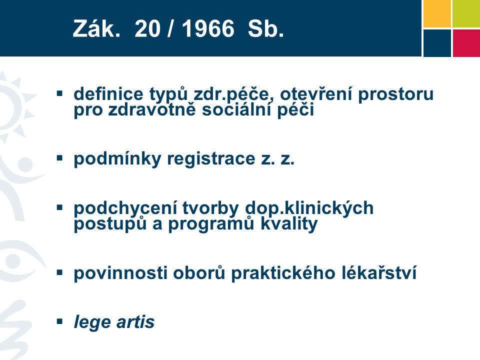 Zák.20 / 1966 Sb.