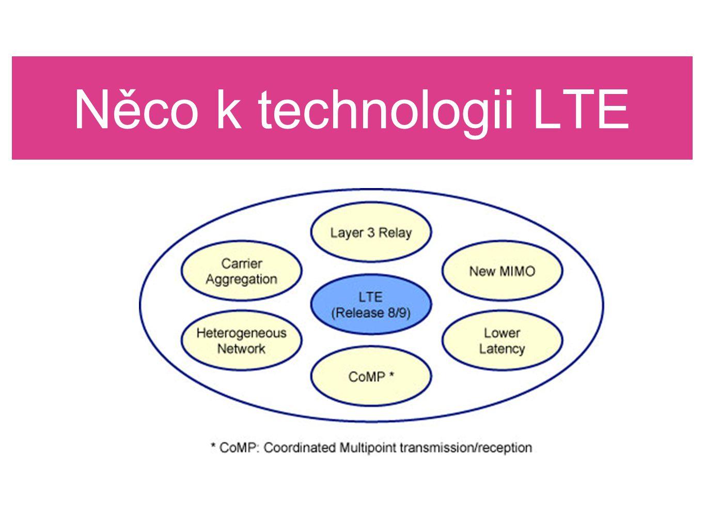 Něco k technologii LTE