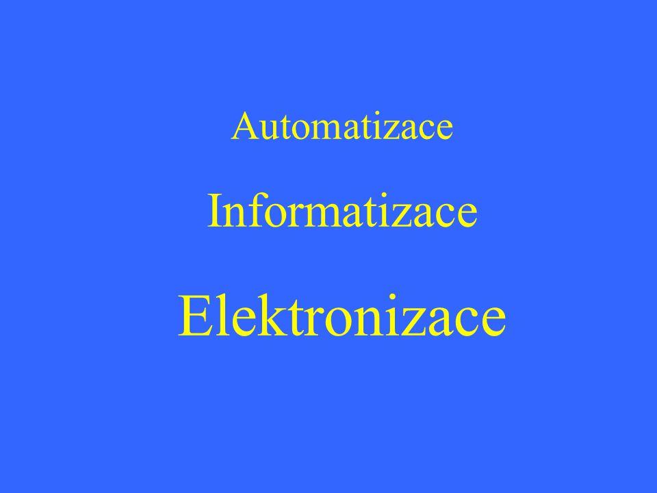 Automatizace Informatizace Elektronizace