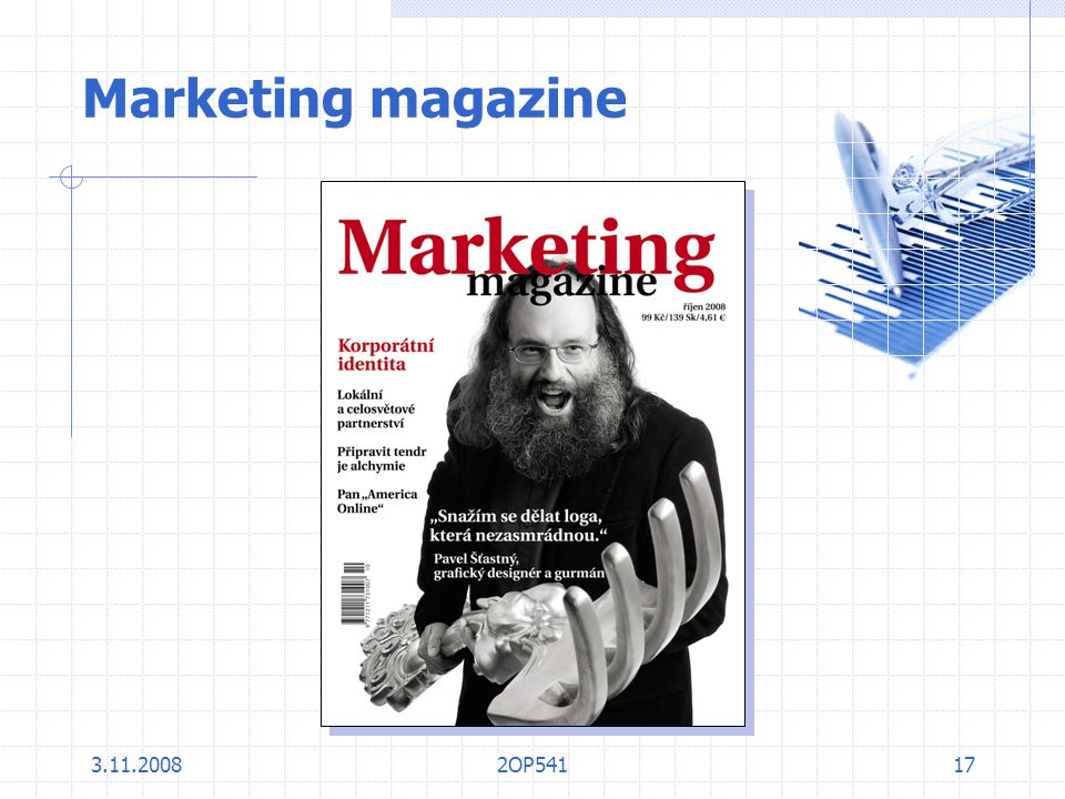 3.11.20082OP54117 Marketing magazine