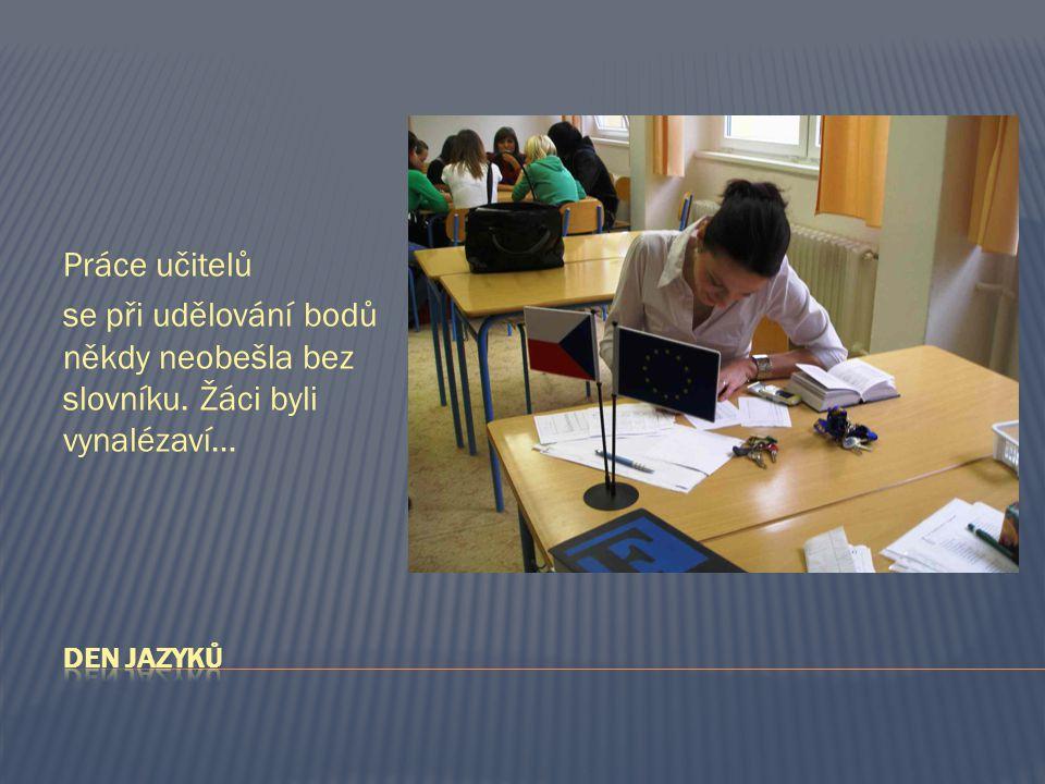 Práce učitelů se při udělování bodů někdy neobešla bez slovníku. Žáci byli vynalézaví…