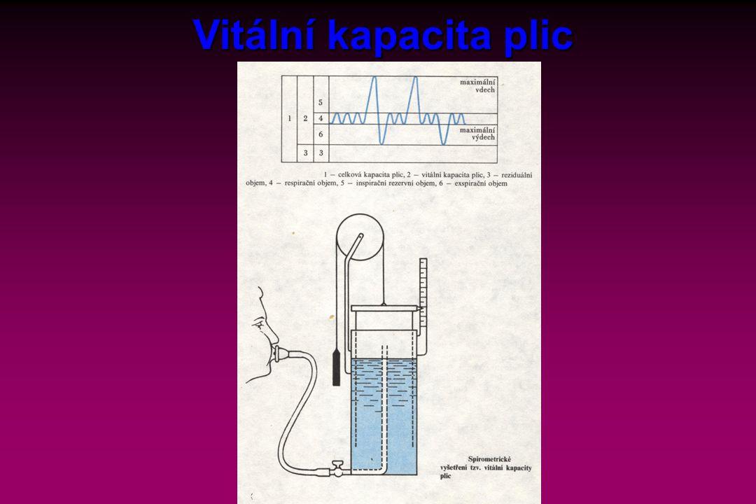 Vitální kapacita plic