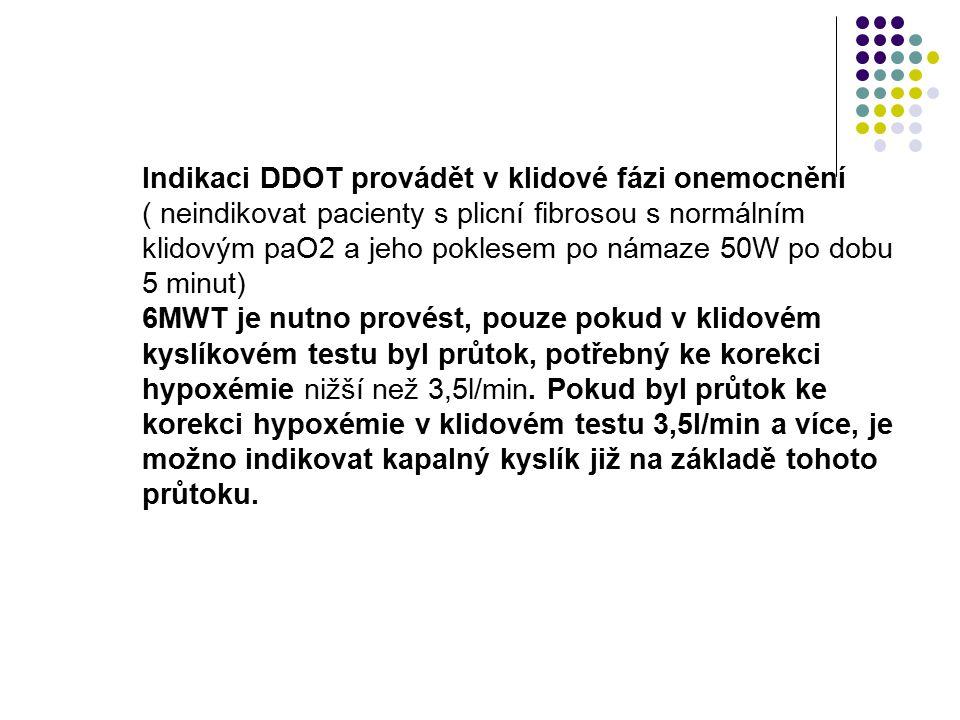 Protokol 6-MWT Sjednocený formulář pro indikaci DDOT systémem Heimox® mobil Štítek Jméno a příjmení: Rodné číslo: Zdravotní pojišťovna: Základní diagn
