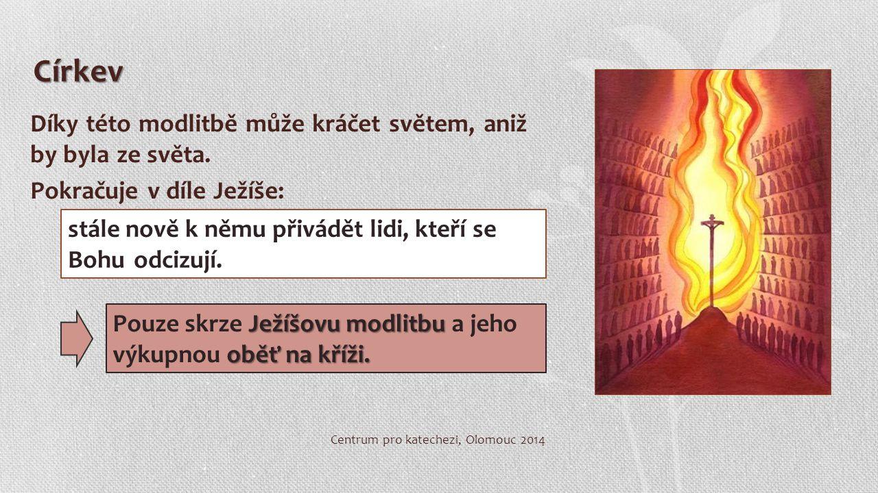 Poznat Ježíše ne jenom skrze intelekt (povídání), především skrze lásku (skutek).