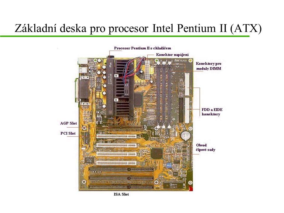 Základní deska pro procesor Intel Pentium II (ATX)