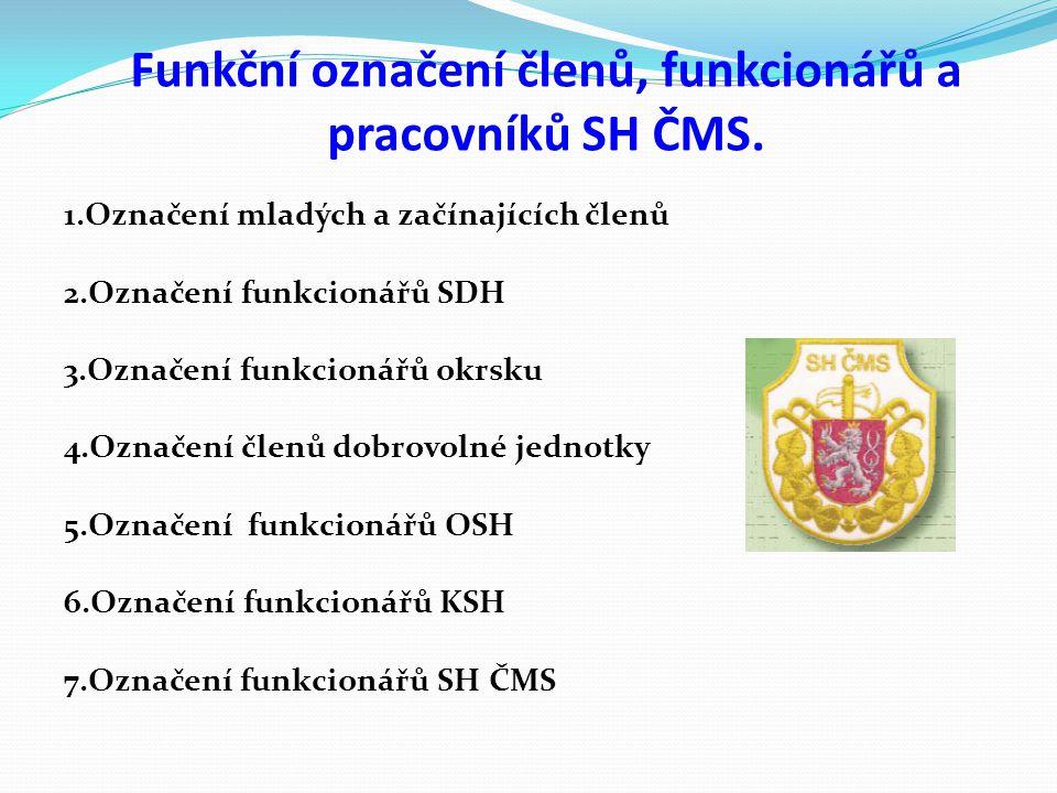 Práva a povinnosti členů a orgánů SH ČMS při užívání stejnokroje SH ČMS 1.Řádní členové při užívání stejnokroje jsou povinni: a)Nosit stejnokroj podle