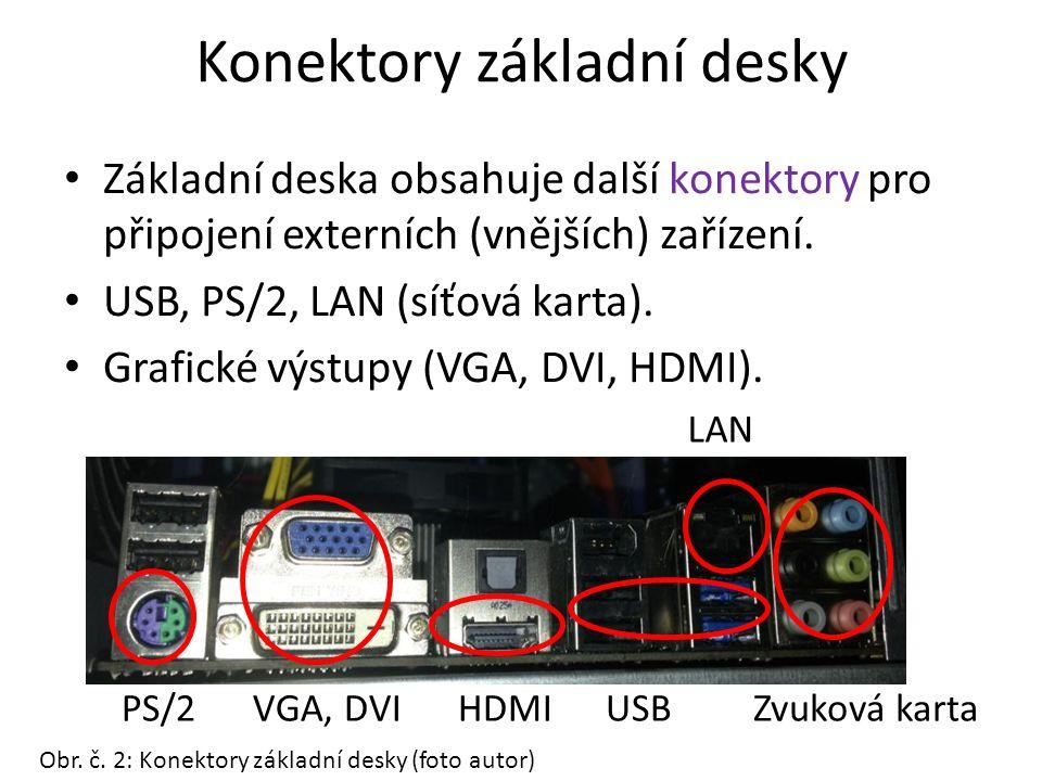 Výrobci základních desek Největší výrobci základních desek: ASUS, GIGABYTE, Intel, MSI Obr.