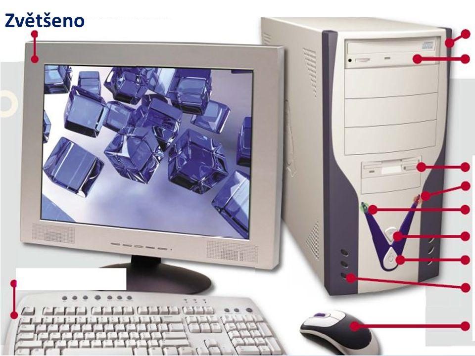 Části PC Napiš, o jakou část počítače jde. Jakou funkci plní?