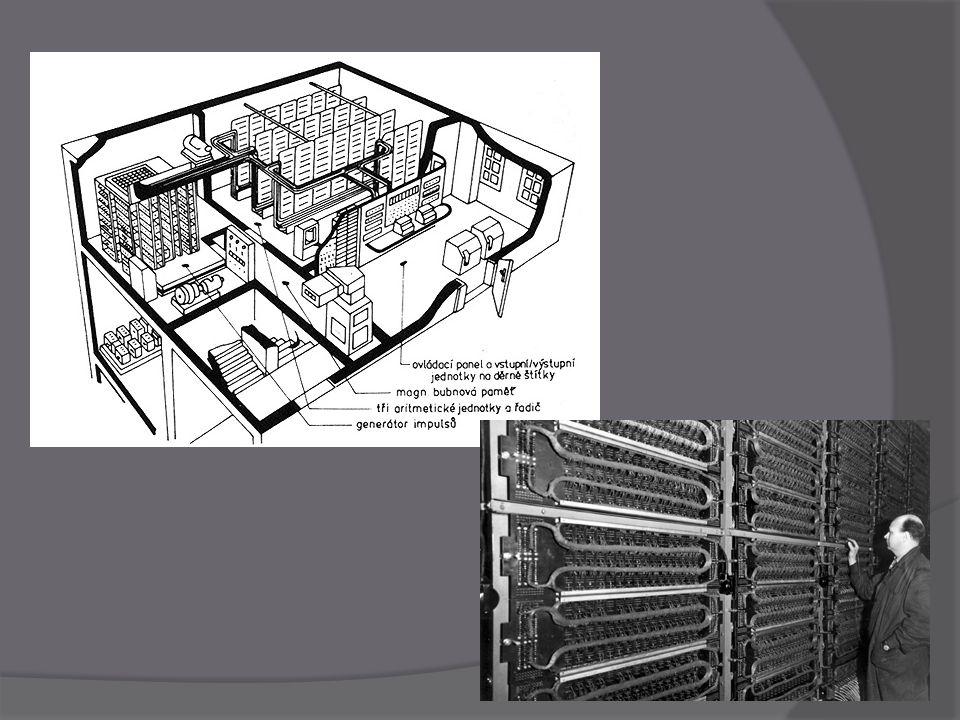 První generace  Počítače této generace byly velmi primitivní  Žádný software alespoň minimálně sjednocený  Počítače zabírali i celou budovu  Součástky elektronky – počítače byly velmi poruchové  počítače byly vyráběny od poloviny 40.