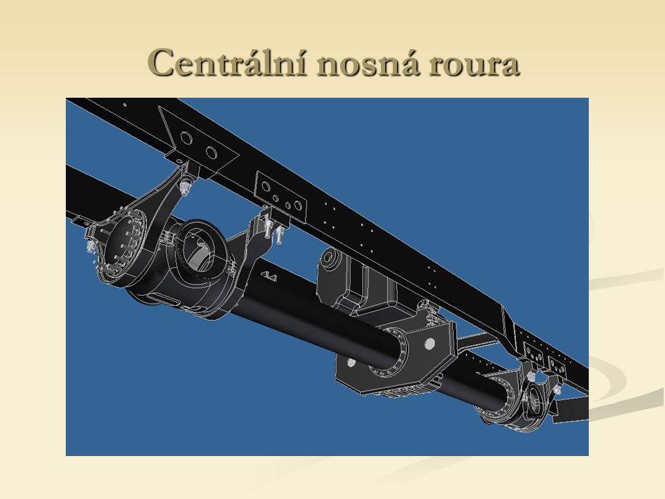 Centrální nosná roura