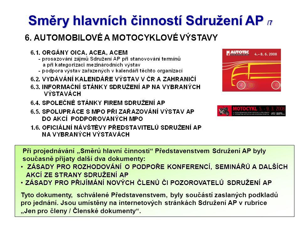24 Směry hlavních činností Sdružení AP /7 6.