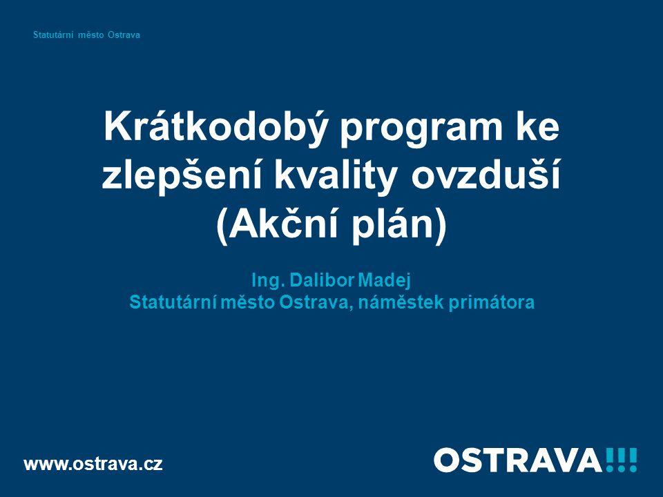 Krátkodobý program ke zlepšení kvality ovzduší (Akční plán) Ing.