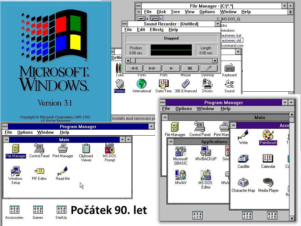 Počátek 90. let