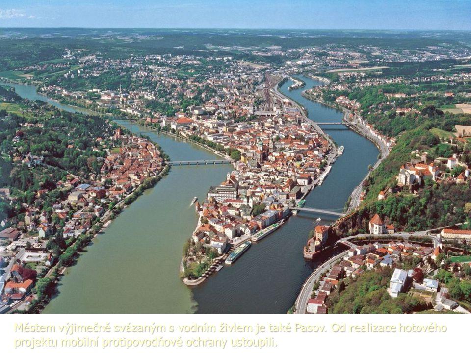 Městem výjimečně svázaným s vodním živlem je také Pasov.