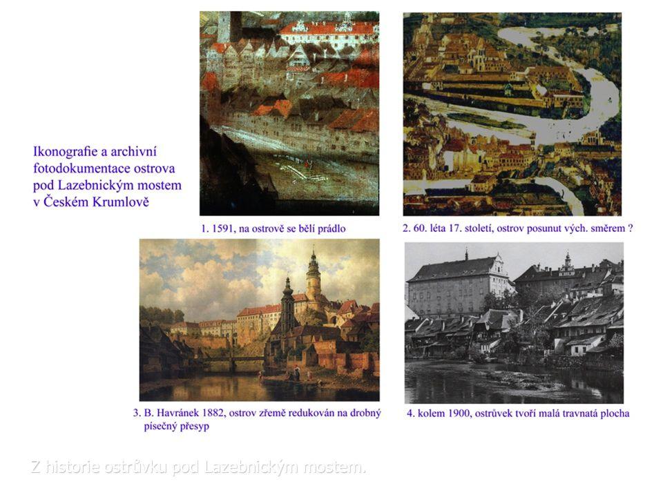 Z historie ostrůvku pod Lazebnickým mostem.