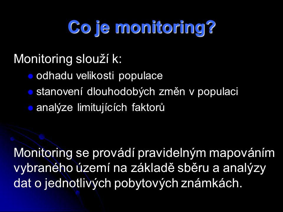 Co je monitoring.