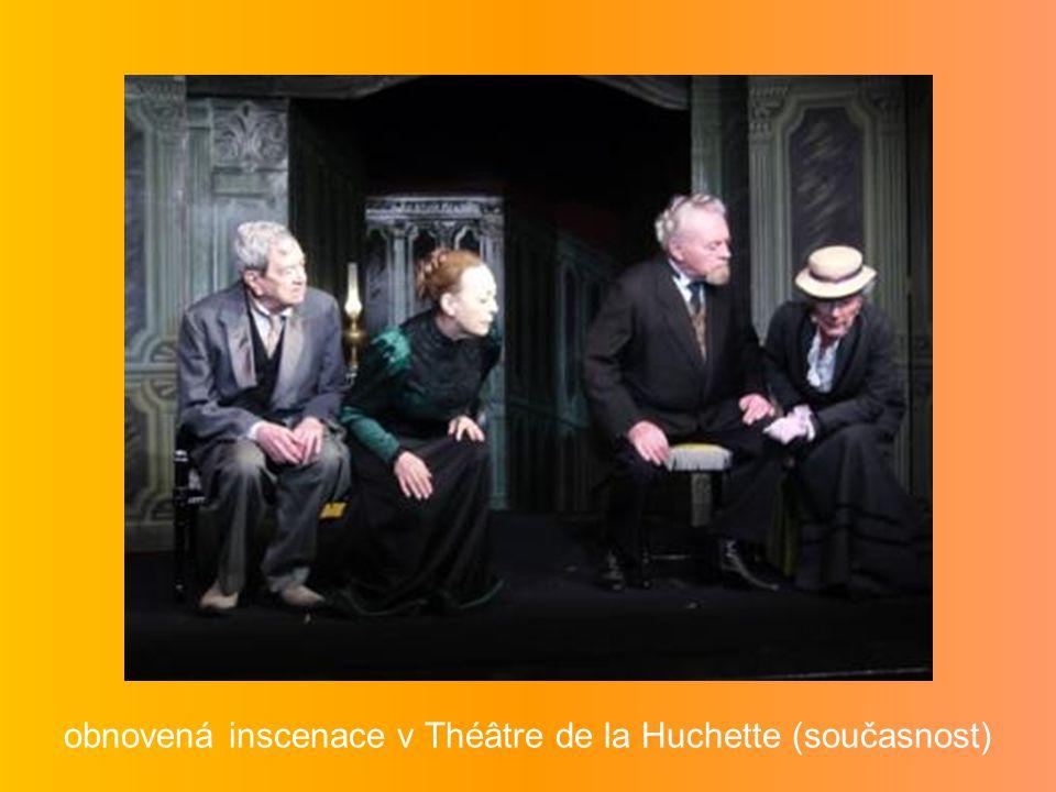 obnovená inscenace v Théâtre de la Huchette (současnost)