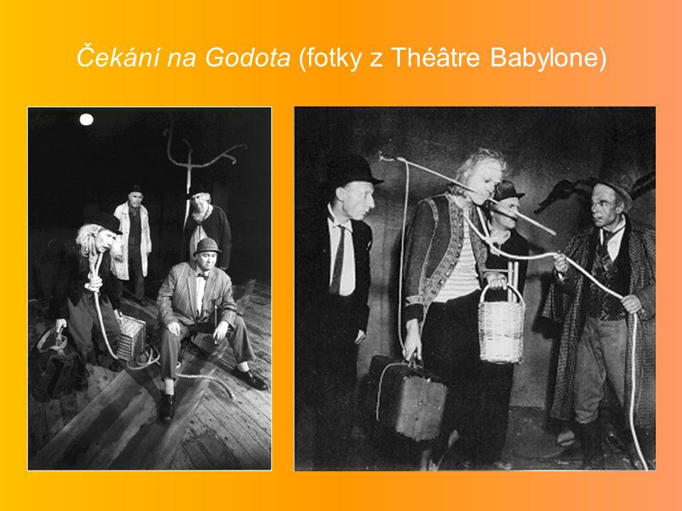Čekání na Godota (fotky z Théâtre Babylone)
