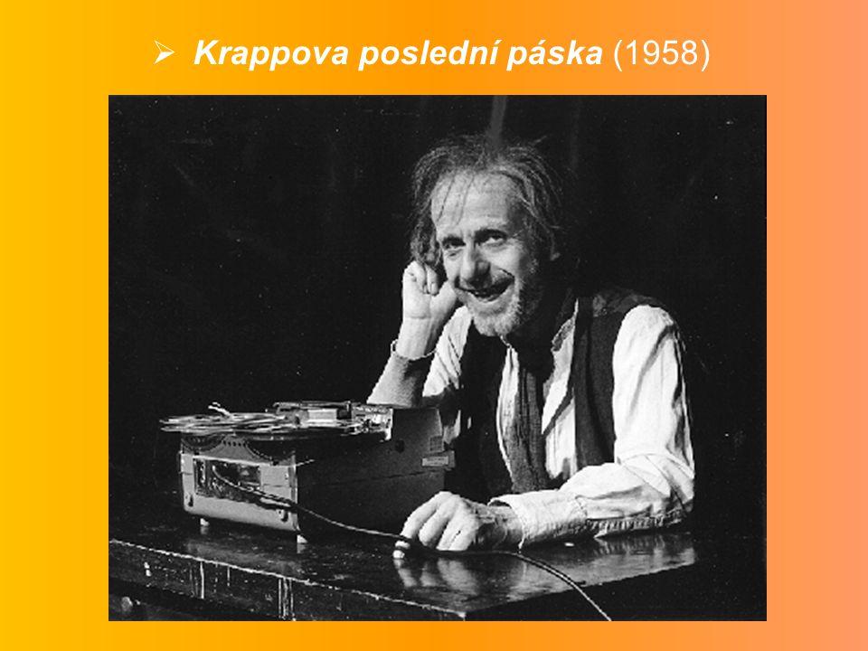  Krappova poslední páska (1958)