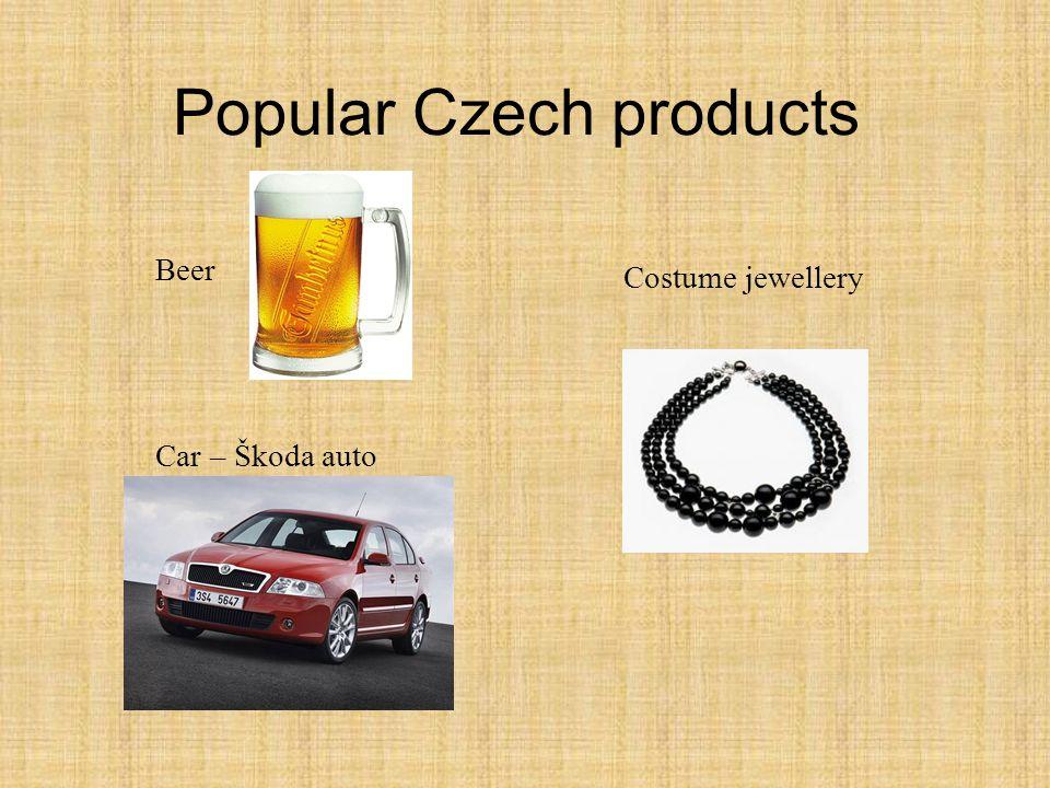 Beer Car – Škoda auto Costume jewellery Popular Czech products