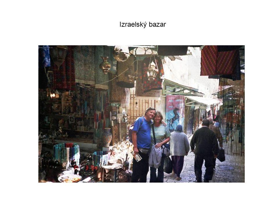 Izraelský bazar