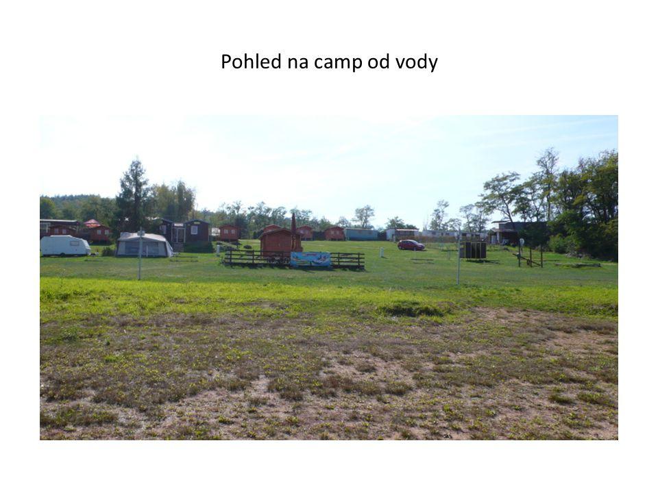 Pohled na camp od vody