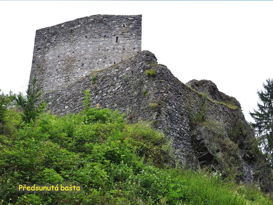 Hrad a okolí z rogala