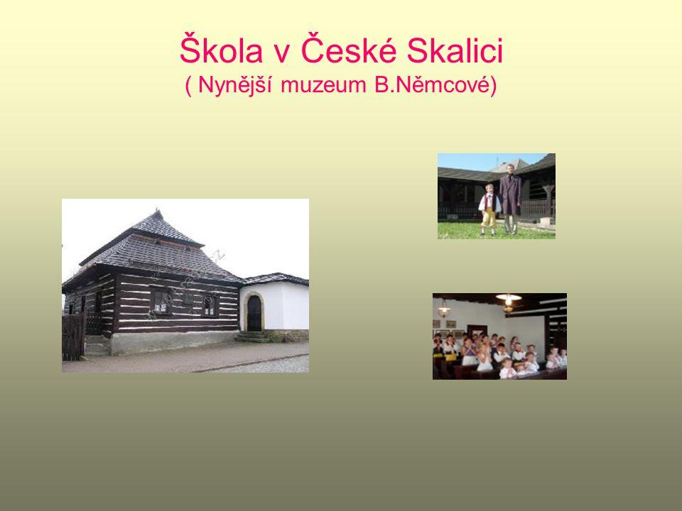 Tříletý pobyt na zámku ve Chvalkovicích Rozloučení s milovanou babičkou