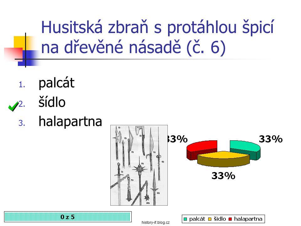 Na obrázku je sečná a bodná zbraň 0 z 5 1. kropáč 2. cep 3. sudlice papirovehelmy.cz