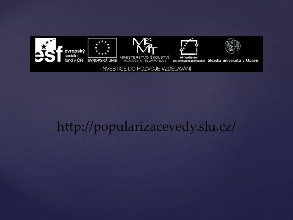 http://popularizacevedy.slu.cz/