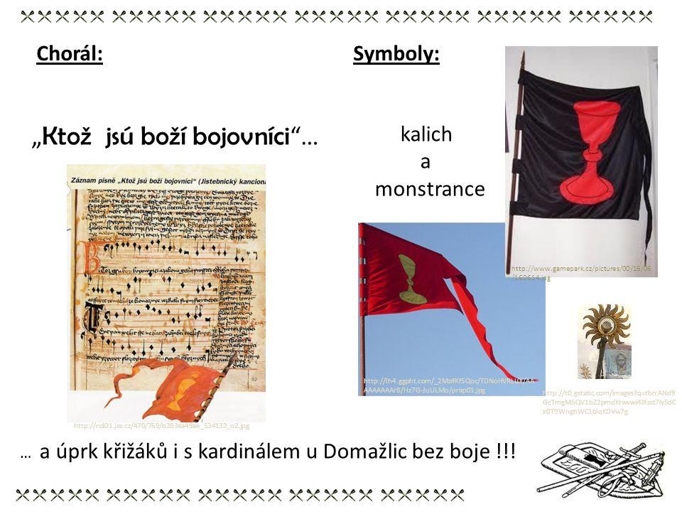 Symboly: kalich a monstrance http://lh4.ggpht.com/_2MzifKf5Qoc/TDNoHVRLL0I/AA AAAAAAAr8/Hz7G-JuULMo/prap01.jpg http://www.gamepark.cz/pictures/00/16/0