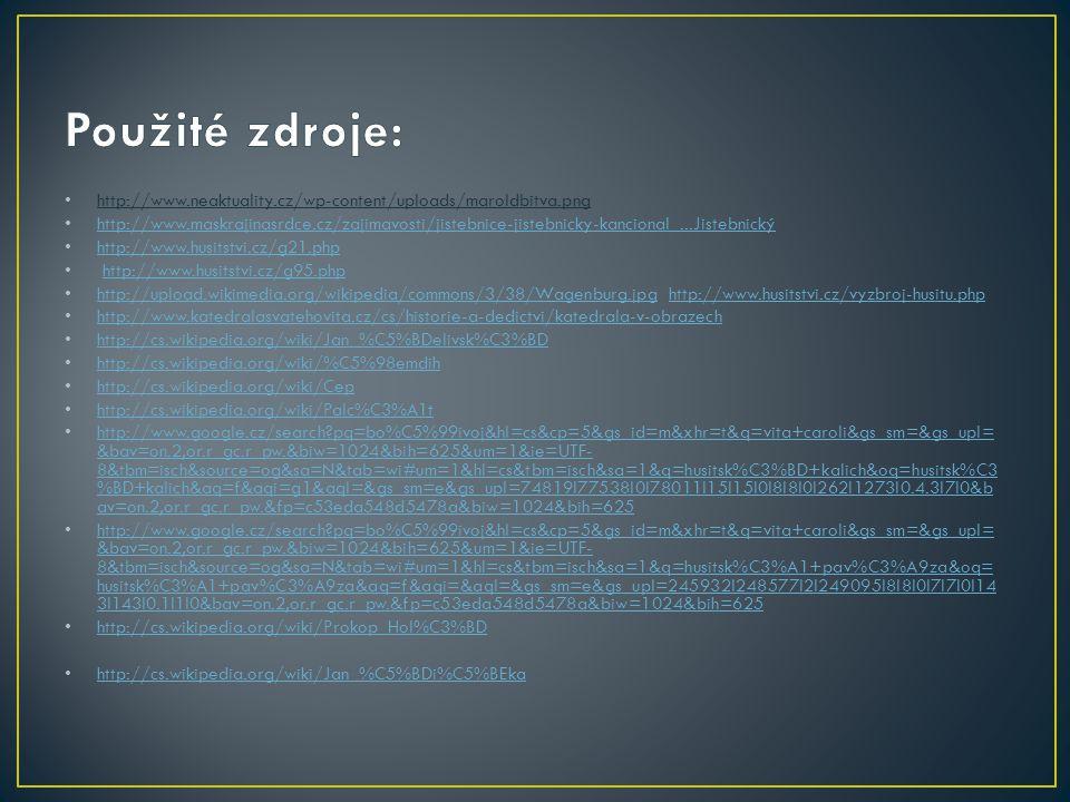 http://www.neaktuality.cz/wp-content/uploads/maroldbitva.png http://www.maskrajinasrdce.cz/zajimavosti/jistebnice-jistebnicky-kancional...Jistebnický