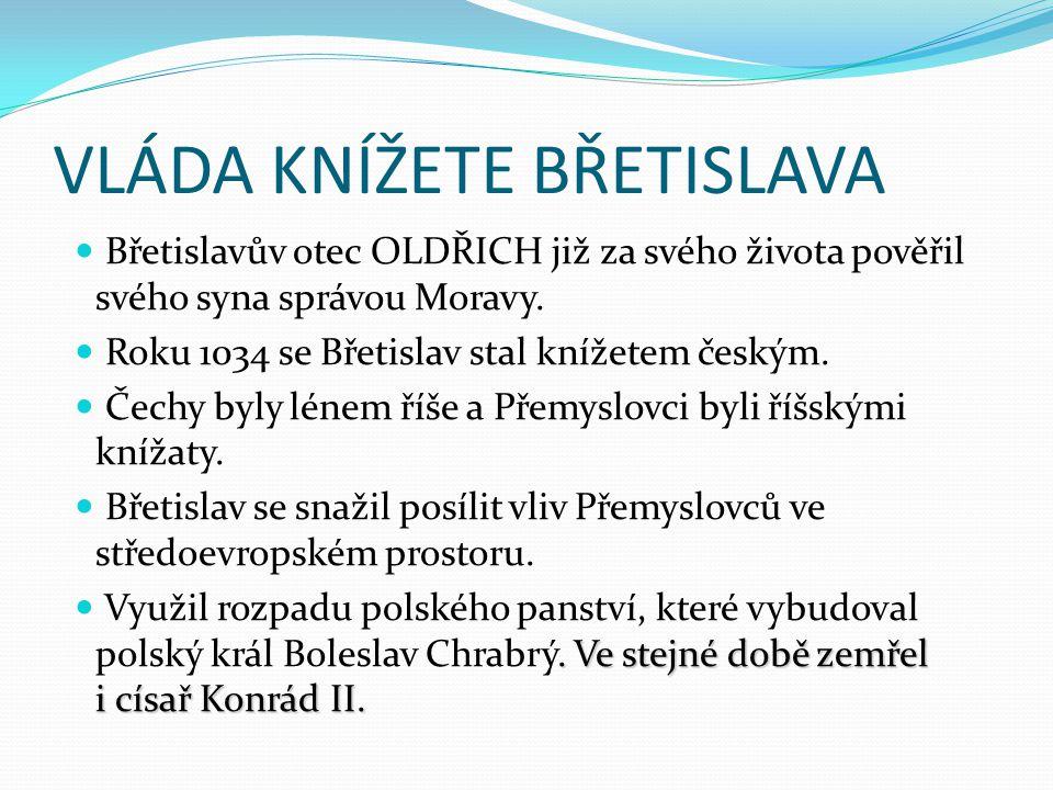 Roku 1039 podnikl Břetislav výpravu do polského Hnězdna.