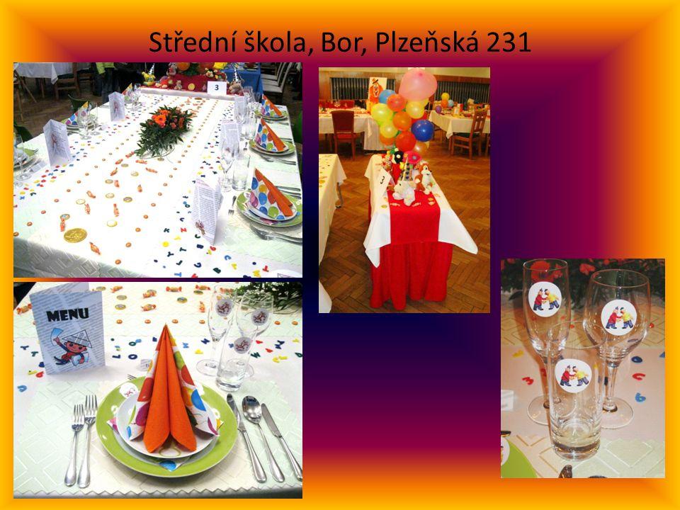 Střední škola, Bor, Plzeňská 231