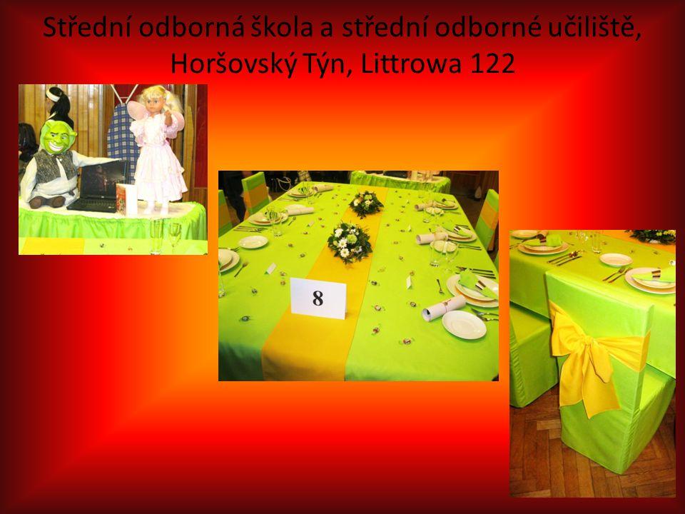 Střední odborná škola a střední odborné učiliště, Horšovský Týn, Littrowa 122