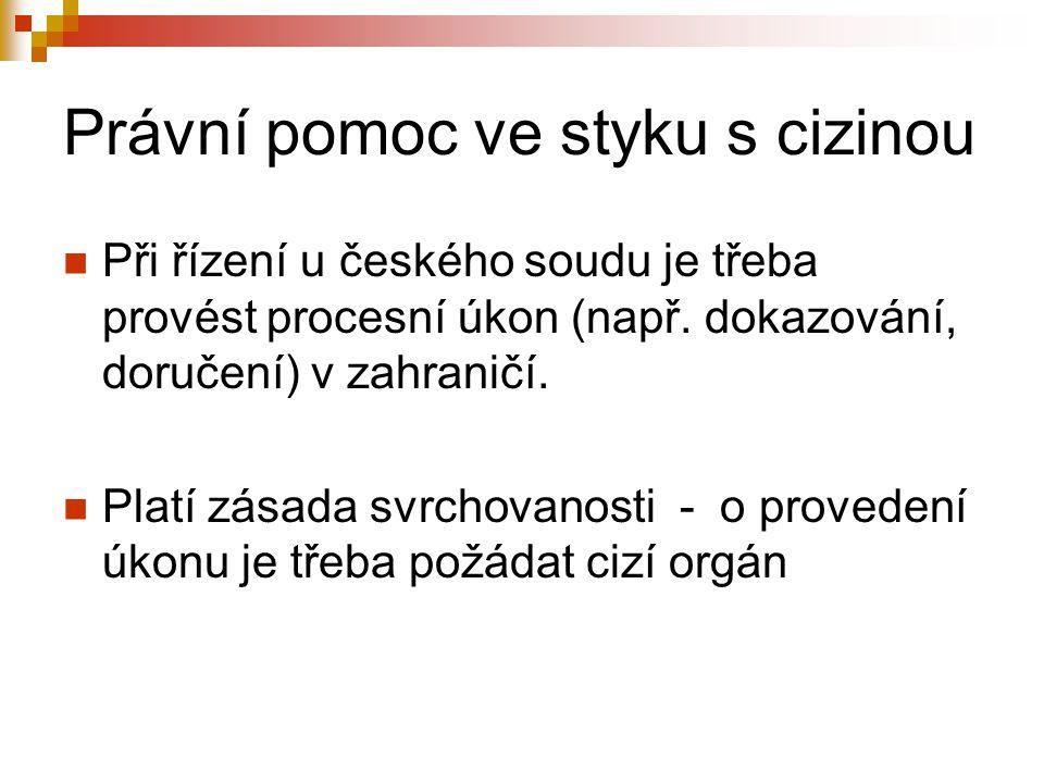 Prostředky Sdělení členských států – do ČR lze doručovat poštou, emailem a faxem.