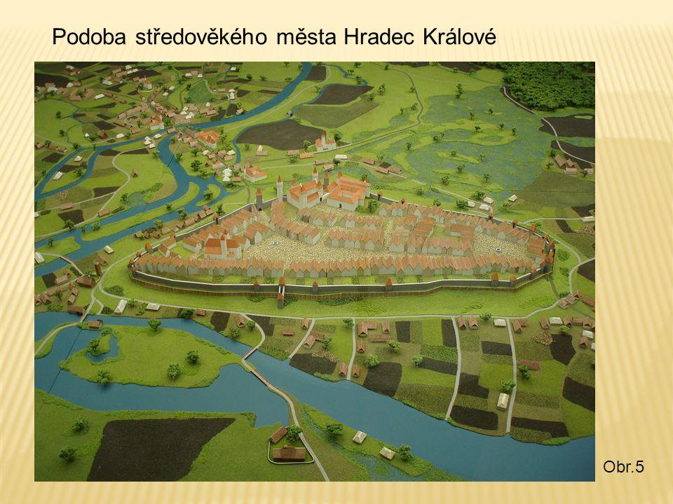 Podoba středověkého města Hradec Králové Obr.5
