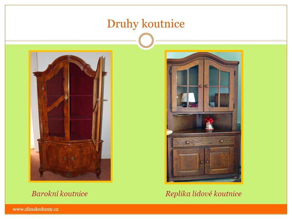 Kontrolní test www.zlinskedumy.cz 1.Čím se maloval dekor na lidovém nábytku.