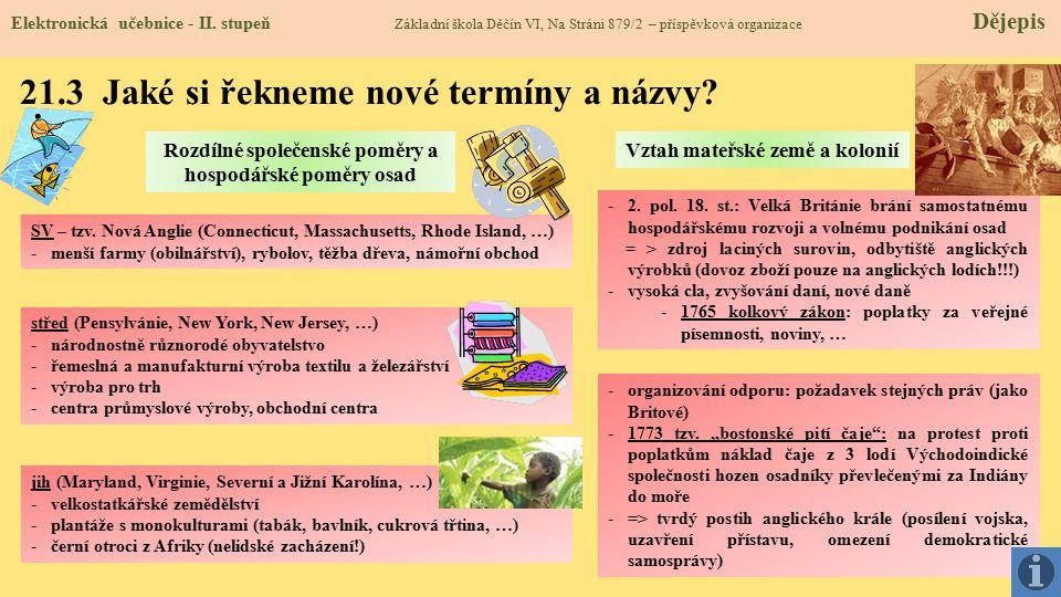21.4 Co si řekneme nového.Elektronická učebnice - II.