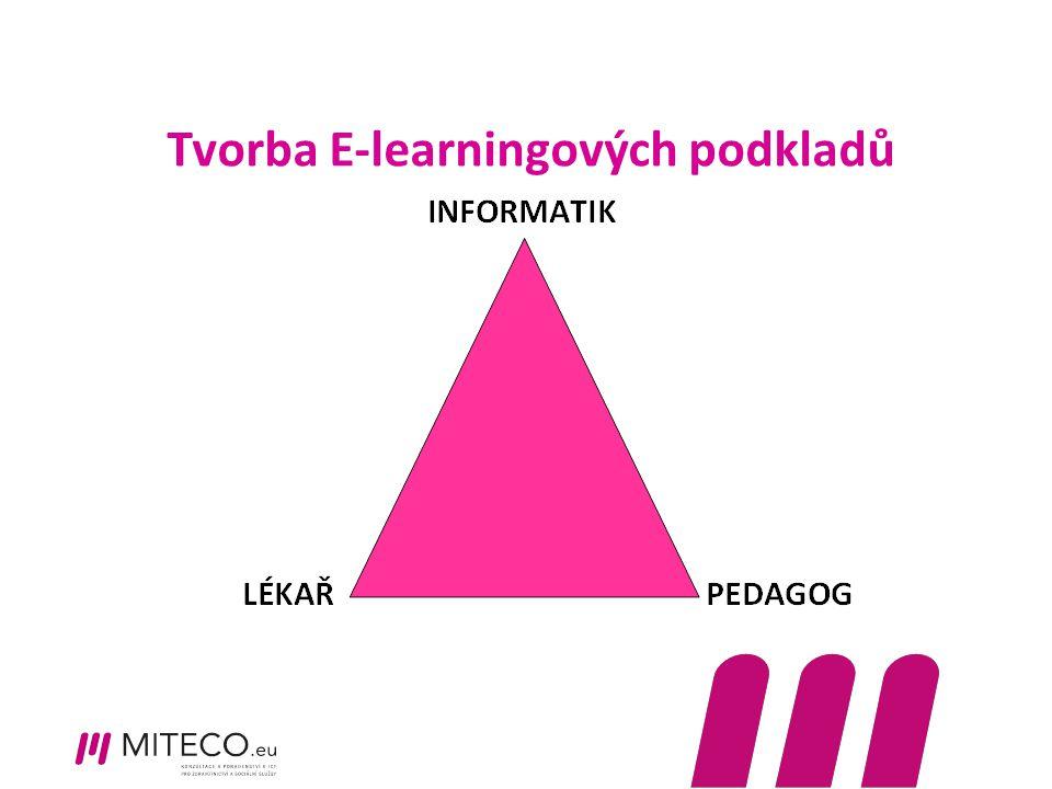 Tvorba E-learningových podkladů