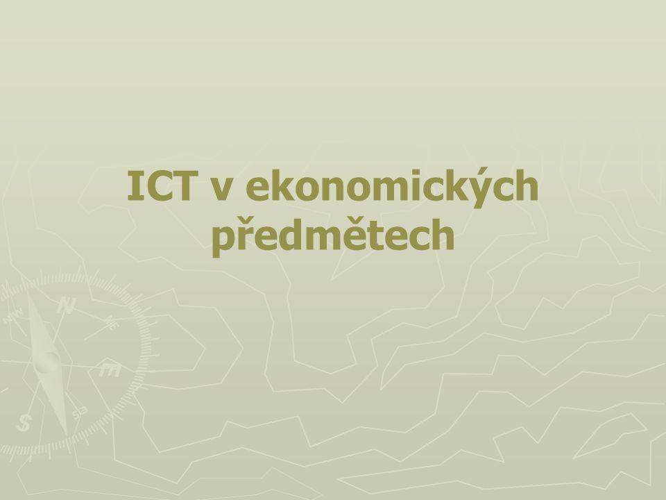 ICT v ekonomických předmětech