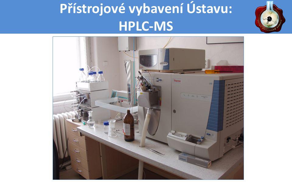 Přístrojové vybavení Ústavu: HPLC-MS