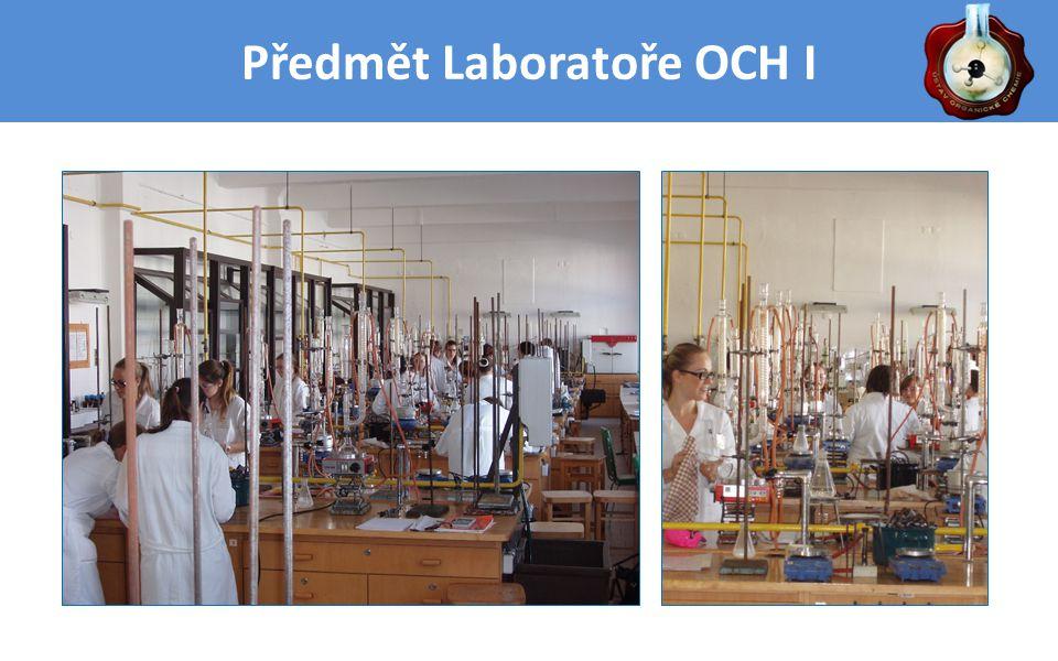 Předmět Laboratoře OCH I