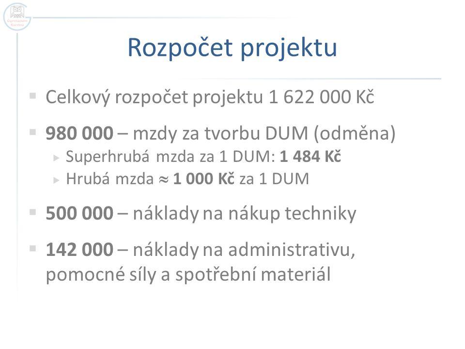 Podpora  www.gym-karvina.cz – projekty – DUM GK www.gym-karvina.cz  Vzorová prezentace + test = 2 x DUM.