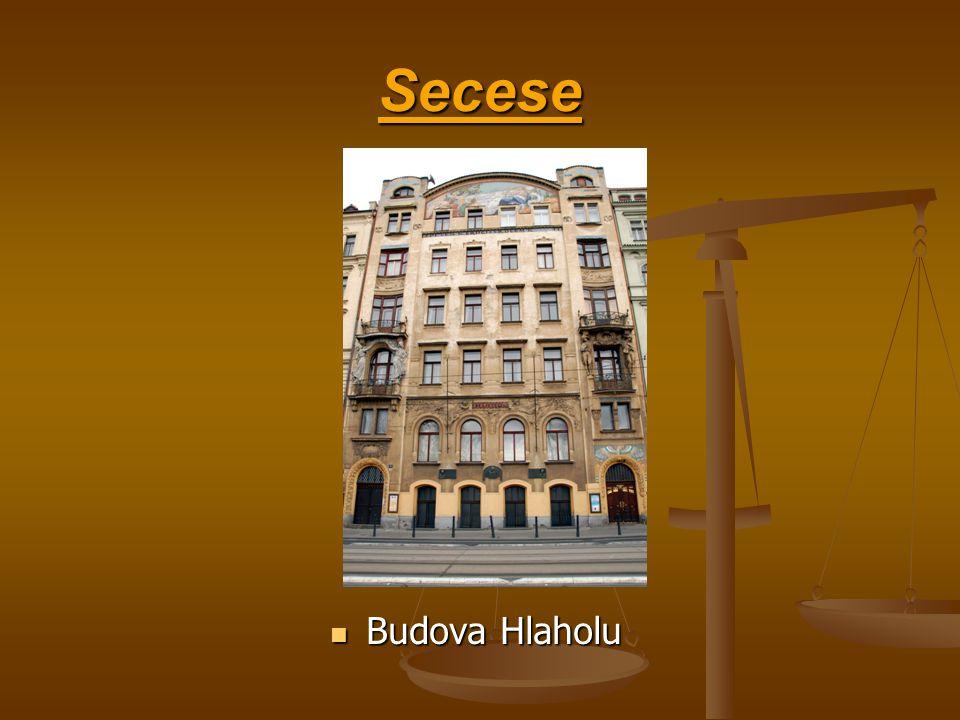 Secese Budova Hlaholu