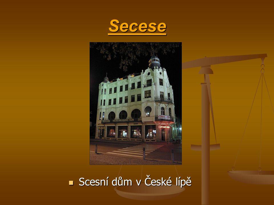 Secese Scesní dům v České lípě